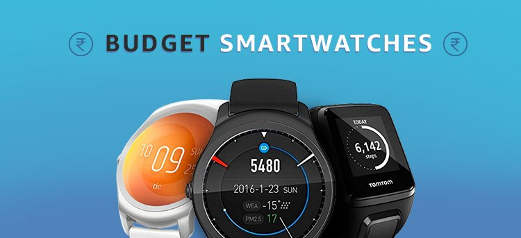 Top 10 Best Fitness SmartWatches in India 2018 : Fitness Smart Watches