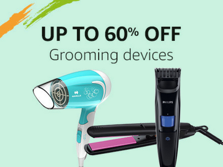 Up to 60% off: Grooming Devices