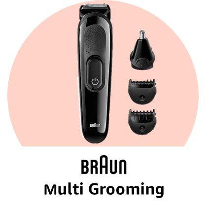 Braun multi grooming