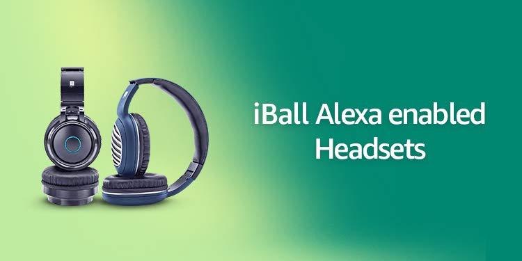 iBall Alexa Headsets