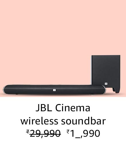 JBL Cinema wireless soundbar