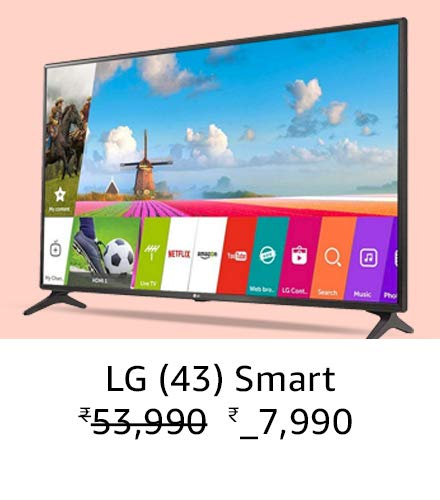 LG (43) Smart Amazone great india sale offer