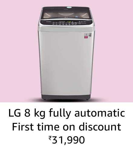 LG 8 kg Amazon great india sale offer
