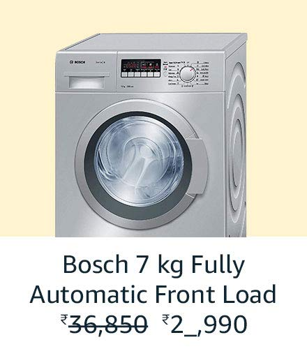 Bosch 7 kg Automatic Front Load