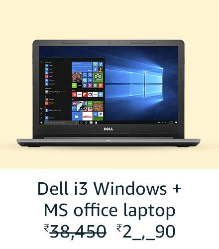 Dell i3 Windows + MS Office