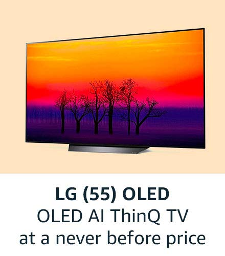 LG (55) OLED Amazon great india sale offers