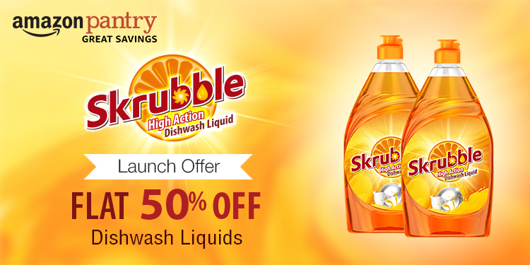 Flat 50% off: Skrubble