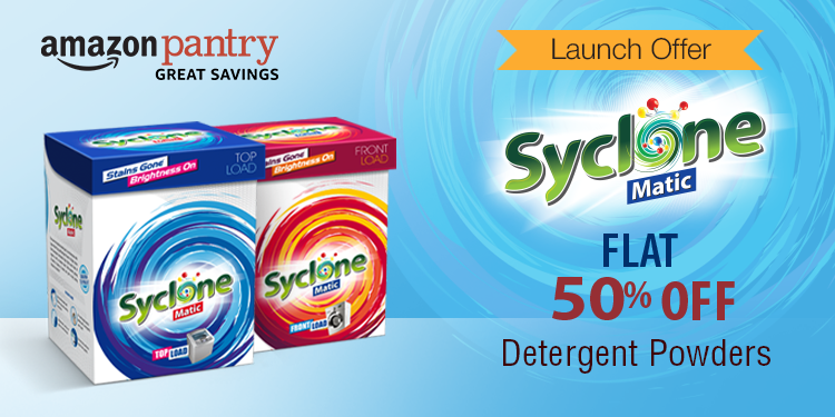 Flat 50% off: Syclone