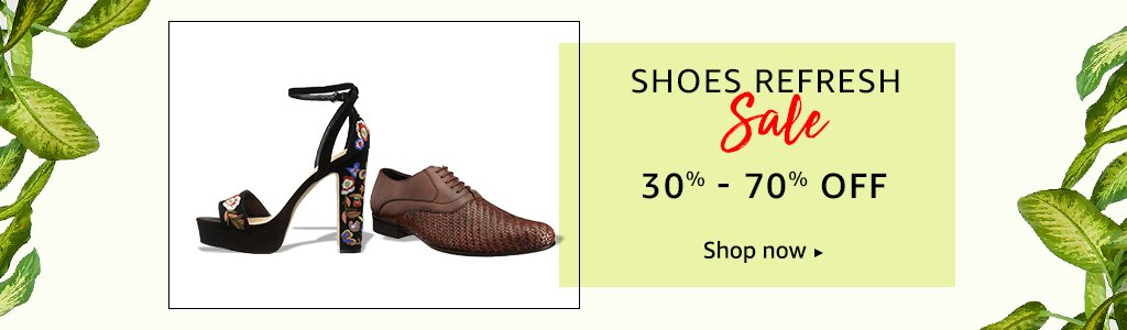 Shoes: 30% - 60% off