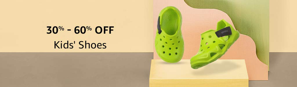 Kids' Shoes: 30%-60% off