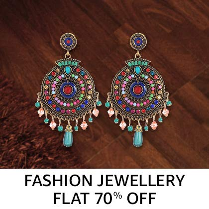 Fashion jewellery Flat 90% Off