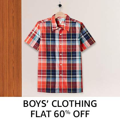 Boys' clothing - Flat 60%Off