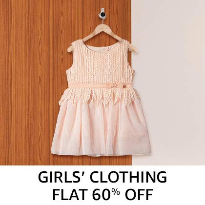 Girls' Clothing - Flat 60%Off