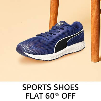 Sports Shoes Flat 60% Off
