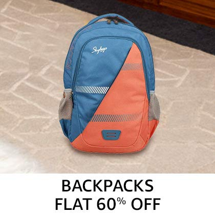 Backpacks Flat 60% Off