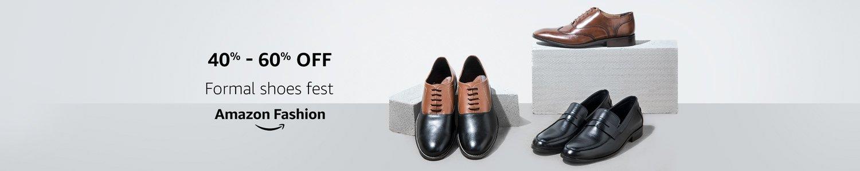 40% - 60% off formal shoes fest