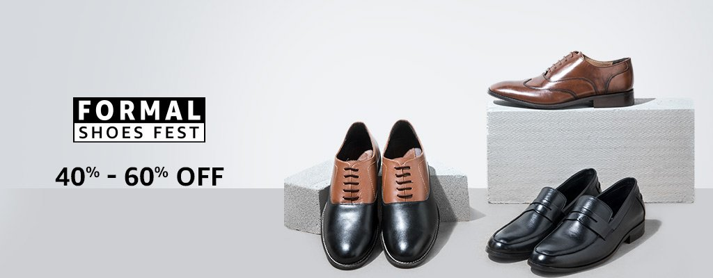 Formal Shoes: 40% - 60% off
