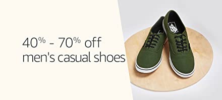 40% to 70% off: Men's casual shoes