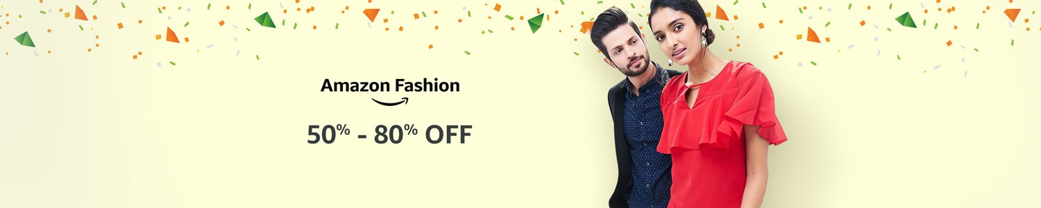 50% - 80% off Amazon Fashion