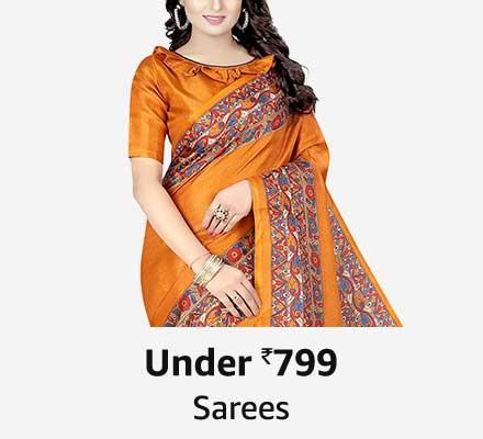 under 799 sarees