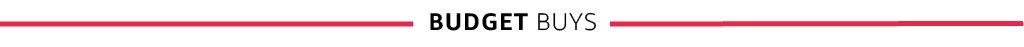Budget Buys