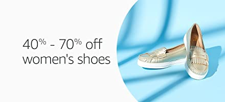 40% - 70% off : Women's Shoes