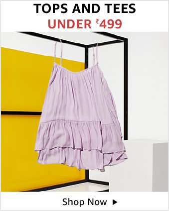 Tops And Tees Under Rs.499