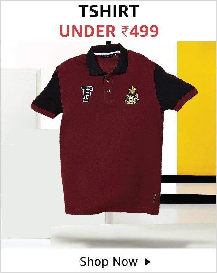 Tshirt Under 499