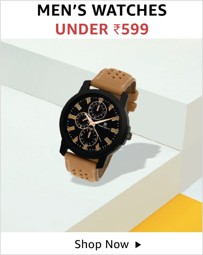 Men's watches under 599