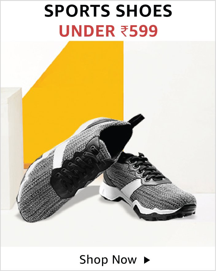 Men's sports shoes under 599