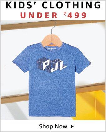 Kids clothing under 499