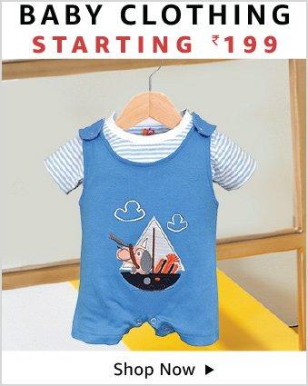 Baby clothing starting 199