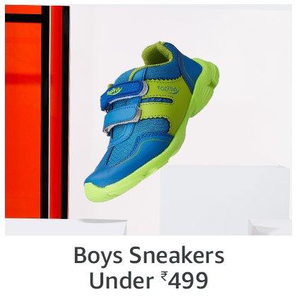 Boys Sneakers   Under 499