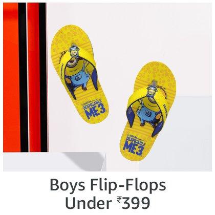 Boys Flip Flops   under 399