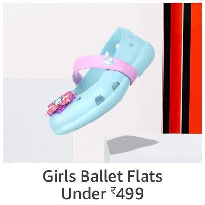 Girls Ballet Flats   under 499