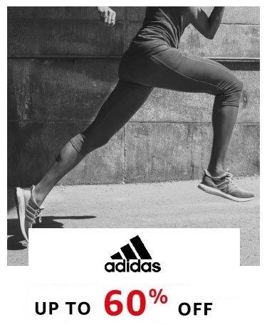 Adidas : Upto 60% off