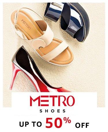 Metro : Upto 50% off