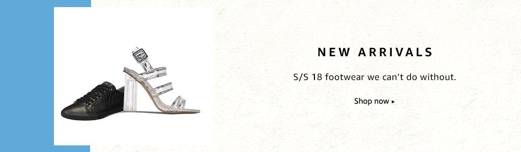 Shoes: New Arrivals