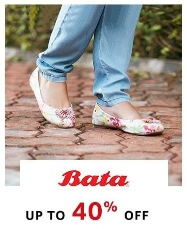 Bata : Up to 40% off