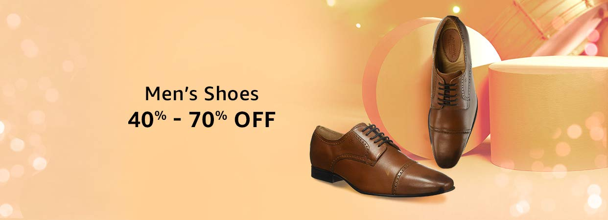 40% - 70% Off Men's Shoes
