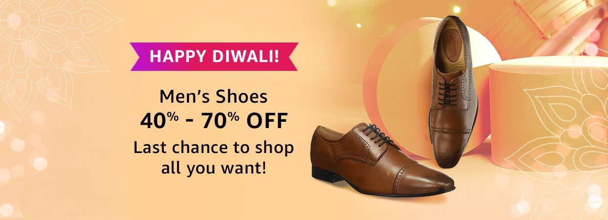 40% - 80% Off Men's Shoes