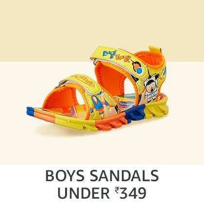 Boys' Sandals Under Rs. 349