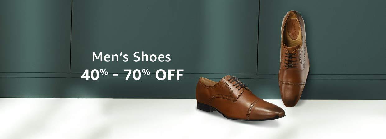 40% - 70% Off Men's Shoes
