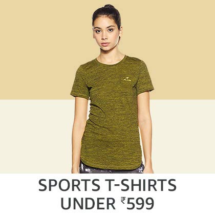 Sports T-Shirts Under Rs. 599