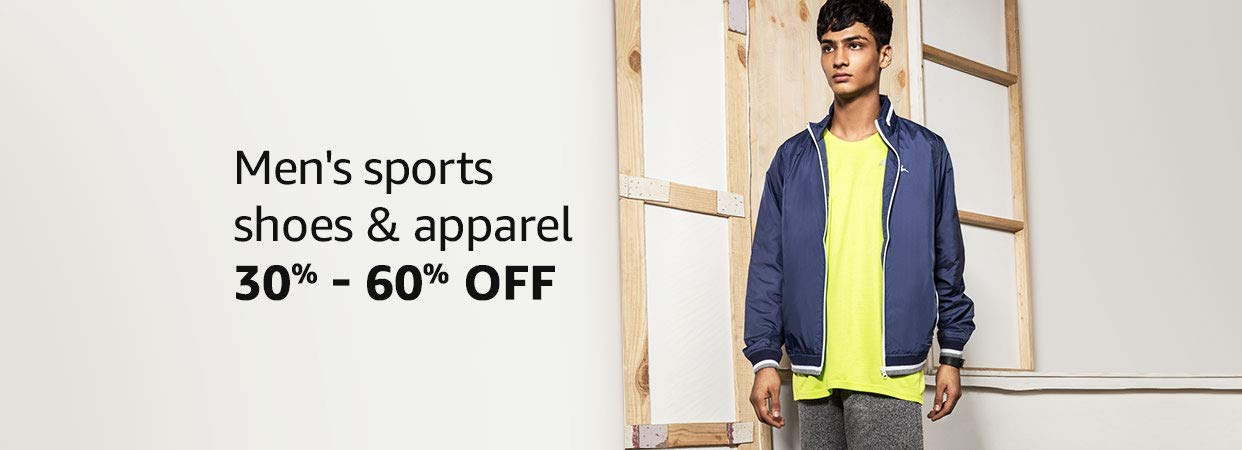 30% - 60% Off Men's sports shoes & apparel