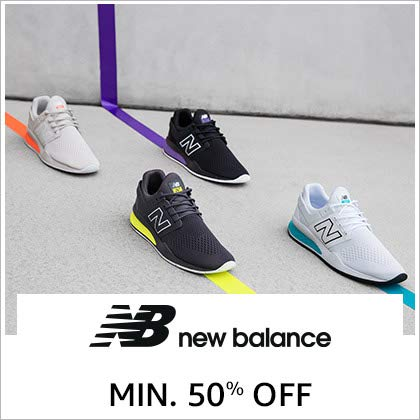 New Balance up to 50% Off