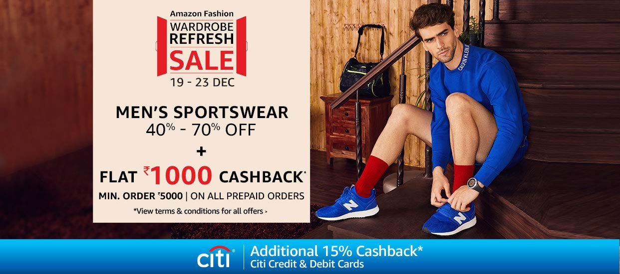 40% - 70% Off Men's sports shoes & apparel