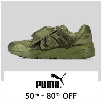 Puma 50% - 80% Off