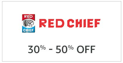 Red Chief 30% - 50% Off