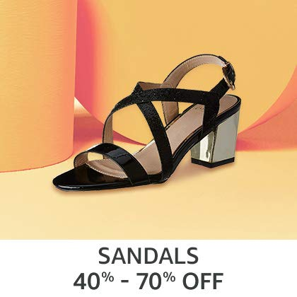 Sandals 40% - 70% Off